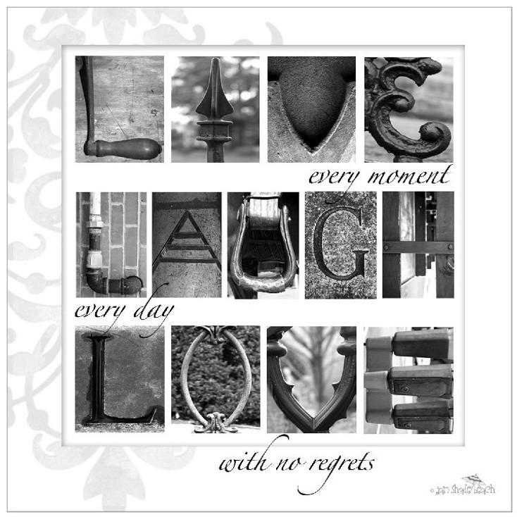 Live, Laugh, Love Ceramic Trivet, Set of 2