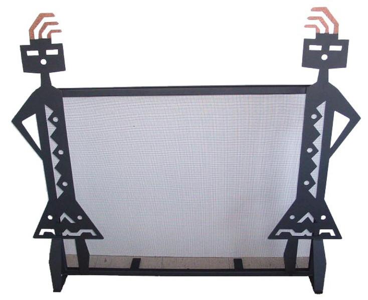 Yei'i Metal Fireplace Screen