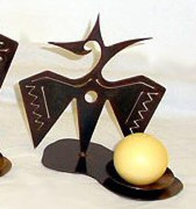 "9"" Choice Wildlife Metal Candle Holder, 66 Designs"