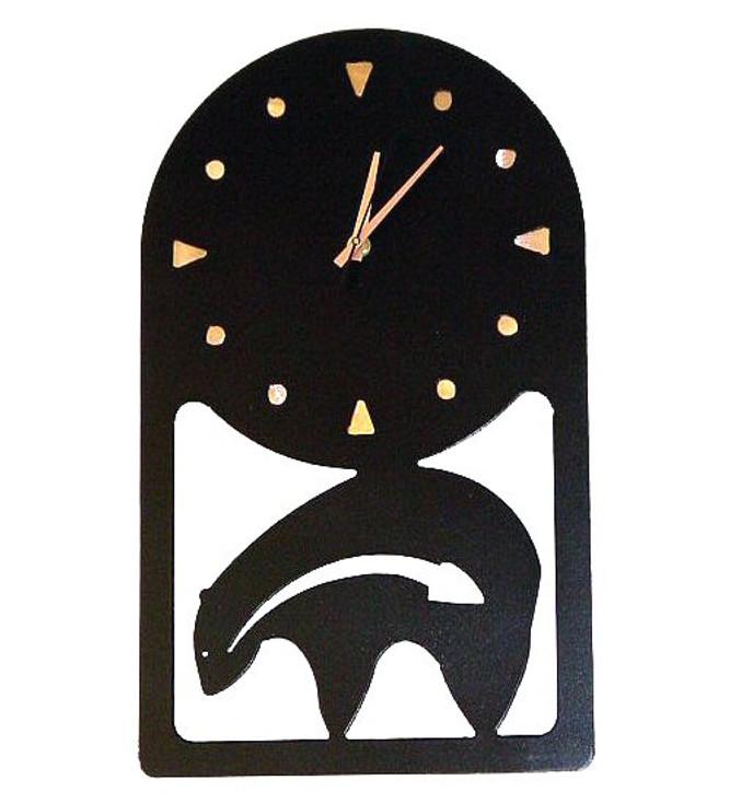 Choice Southwest Metal Wall Clock, 66 Designs