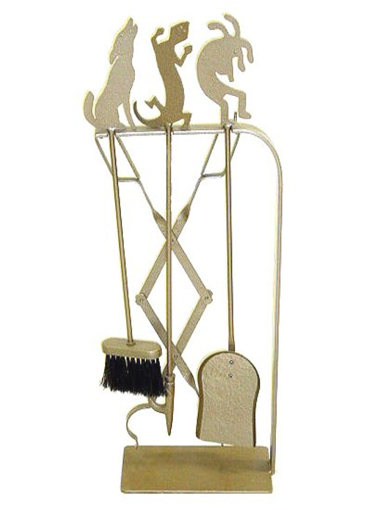 Choice Southwest Metal Fireplace Tools, 66 Designs