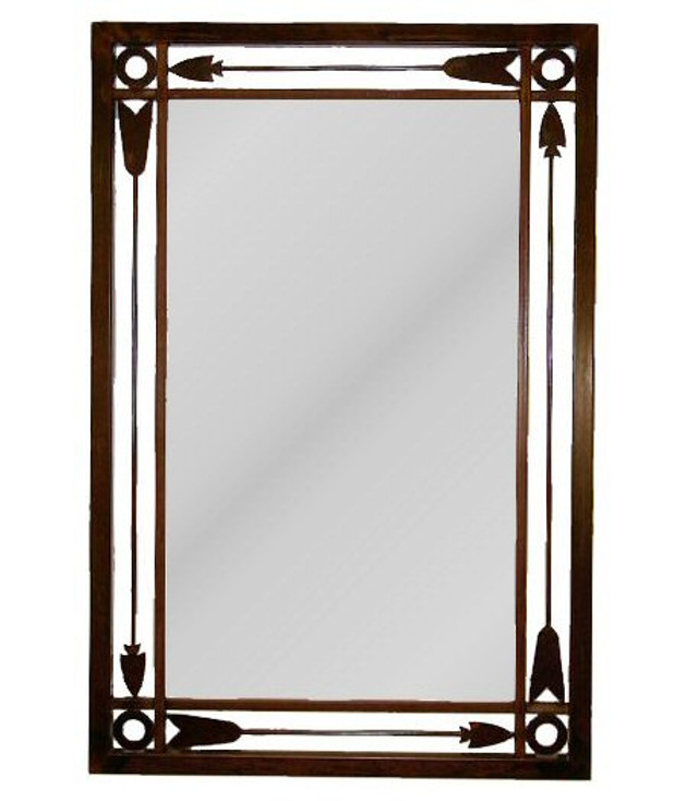 Arrow Metal Wall Mirror