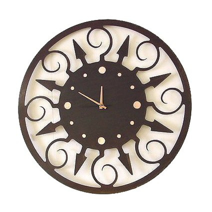 Fiesta Metal Wall Clock