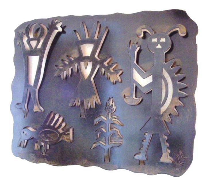 Petroglyph A Metal Wall Art