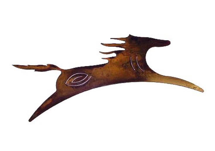 Large Spirit Horse Metal Wall Art