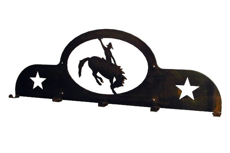 Rodeo 5 Hook Metal Coat Rack