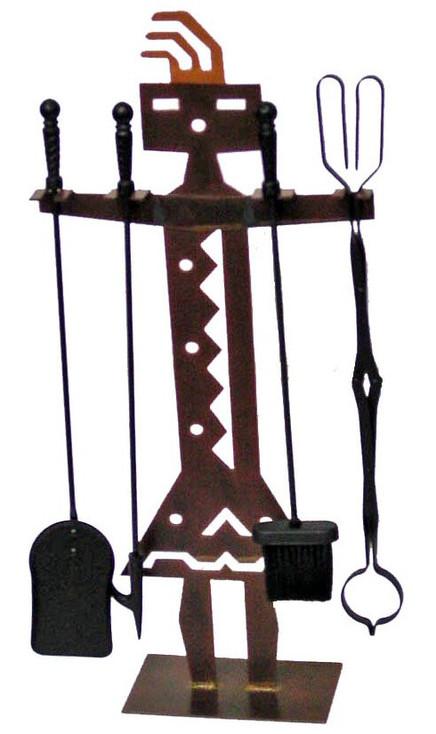 Yei'i Metal Fireplace Tools