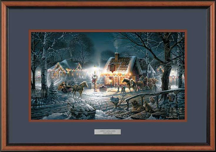 Sweet Memories Walnut Framed Art Print Wall Art