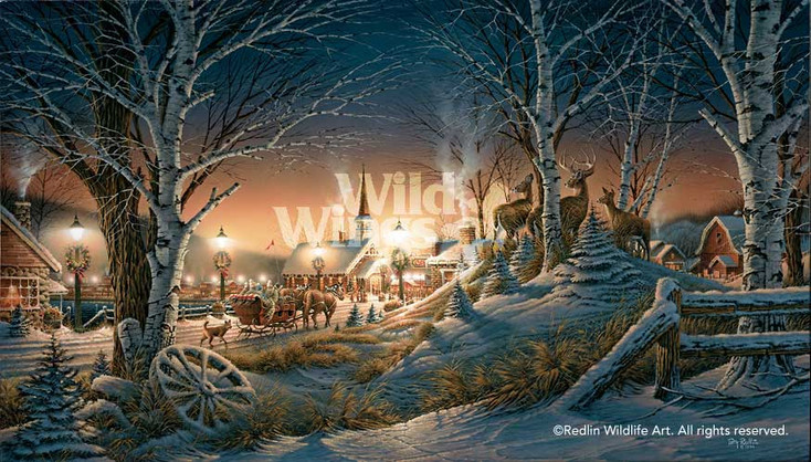 Night on the Town Limited Edition Wrapped Canvas Giclee Art Print Wall Art