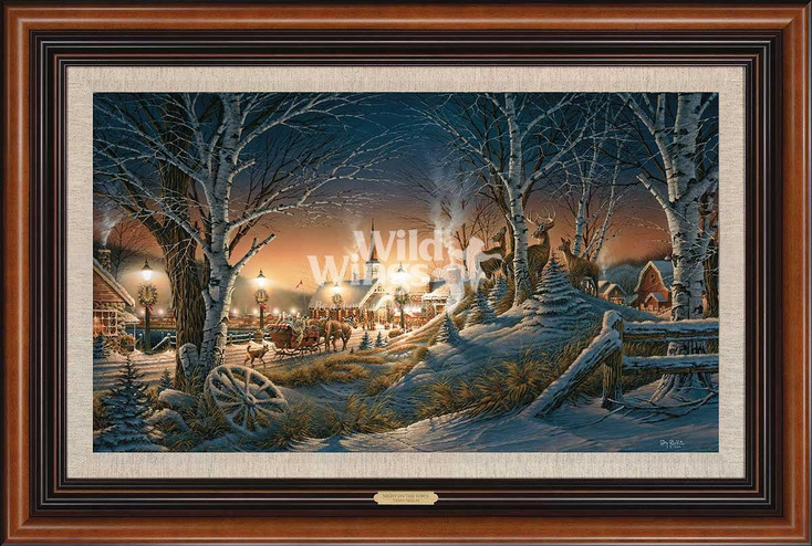 Night on the Town Limited Edition Framed Canvas Art Print Wall Art