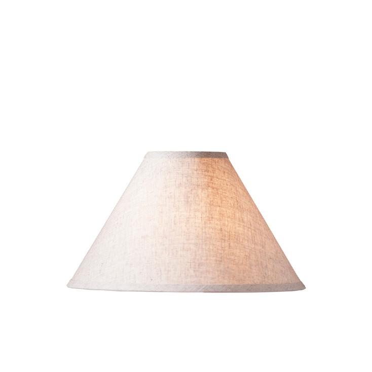 "12.5"" Ivory Linen Lamp Shade"