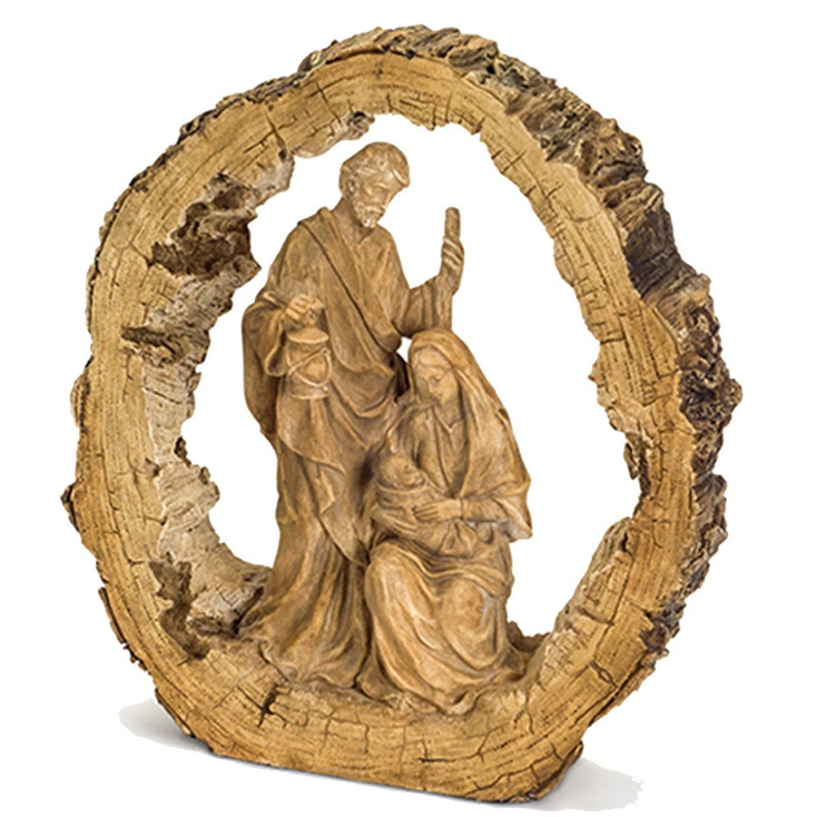Holy Family with Lantern Sculpture