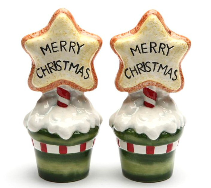 Cookie Planter Salt and Pepper Shakers by Laurie Furnell, Set of 4
