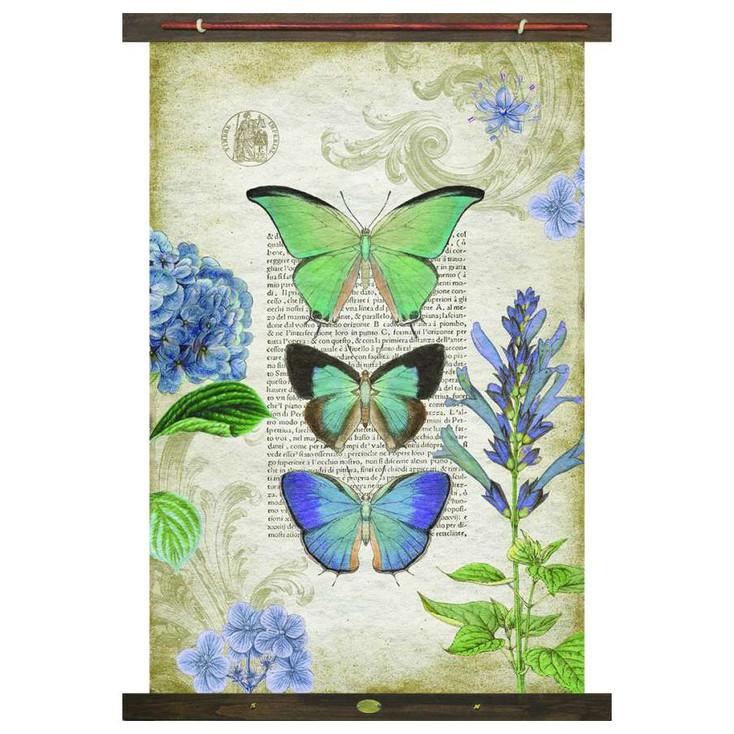 Custom Butterflies Canvas Tapestry