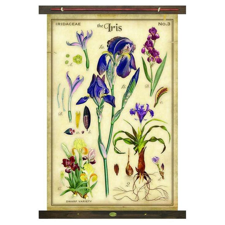 Custom The Iris Flower Canvas Tapestry