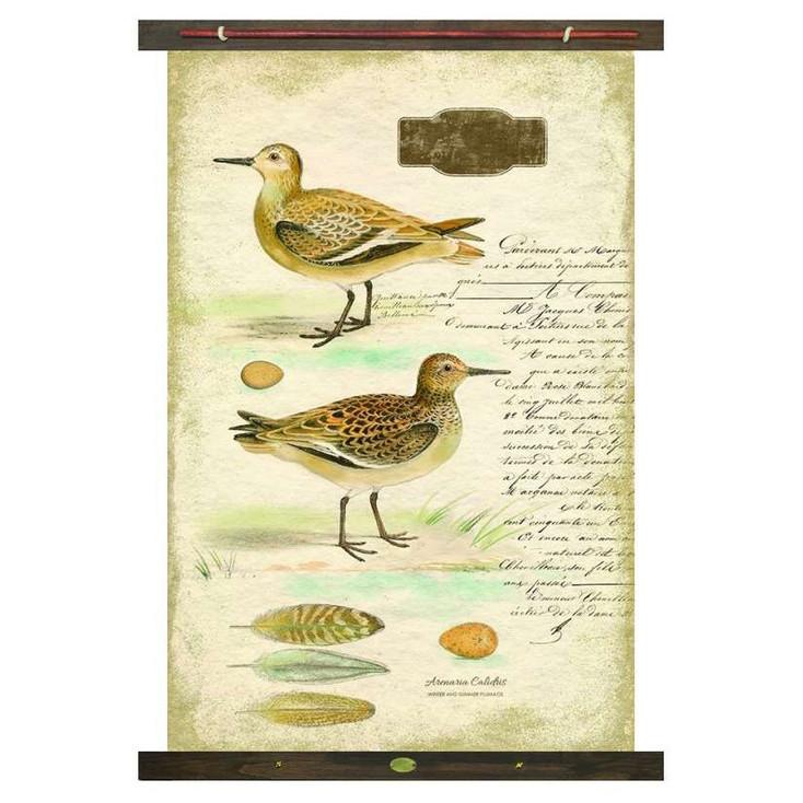 Custom Sandpiper Birds Canvas Tapestry