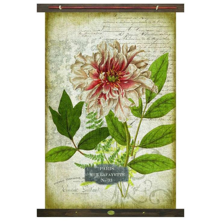Custom Paris Rue Lafayette #33 Canvas Tapestry