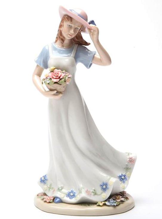 Breezy Grace Porcelain Figurine Sculpture