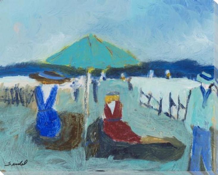 Block Island Wrapped Canvas Giclee Art Print Wall Art