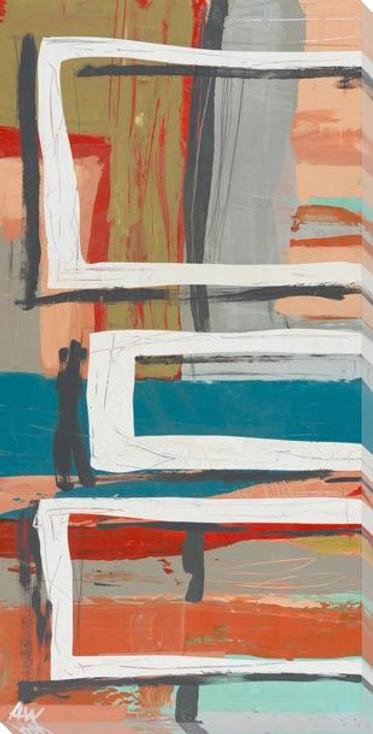 Banter 1 Wrapped Canvas Giclee Art Print Wall Art