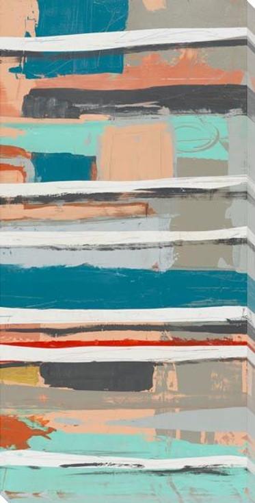 Banter 2 Wrapped Canvas Giclee Art Print Wall Art