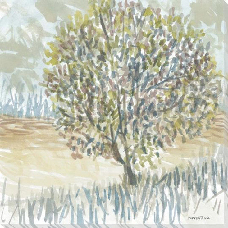 Laurel Grove 7 Wrapped Canvas Giclee Art Print Wall Art
