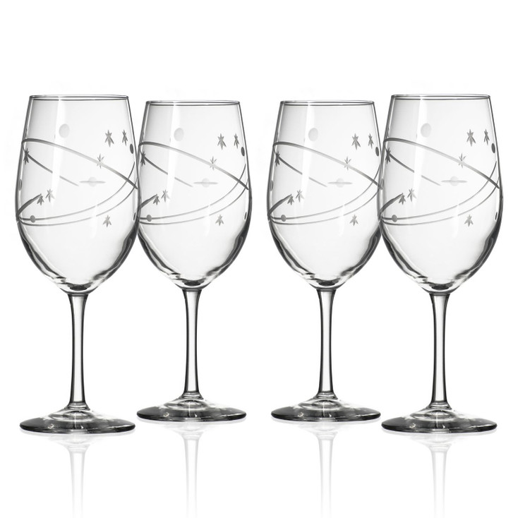 Space All Purpose Wine Glasses, Set of 4