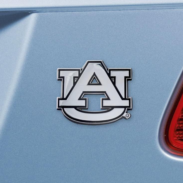 Auburn University Chrome Emblem, Set of 2