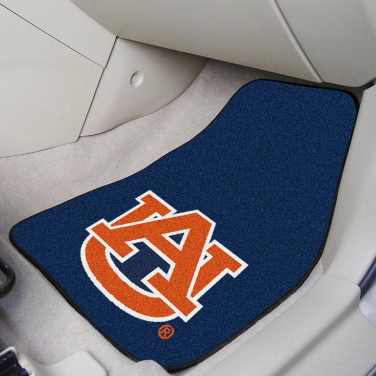 Auburn University Carpet Car Mat, Set of 2
