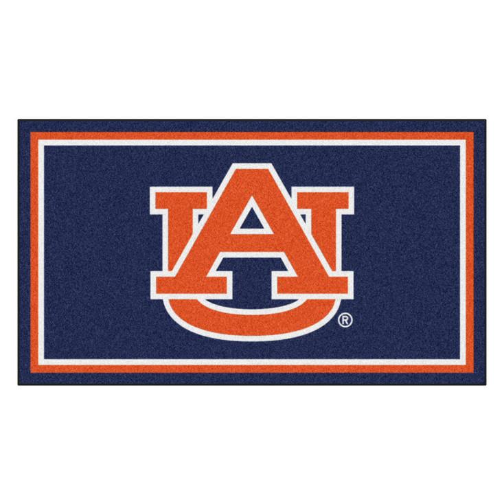 3' x 5' Auburn University Black Rectangle Rug