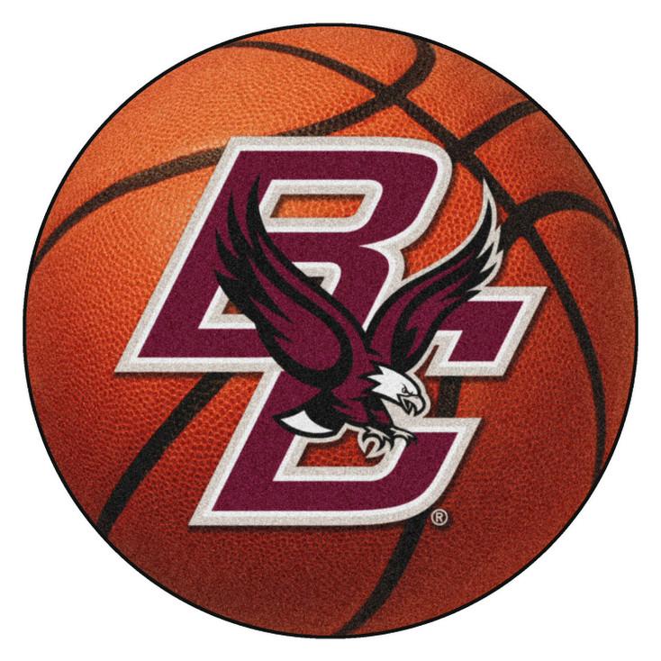 "27"" Boston College Basketball Style Round Mat"