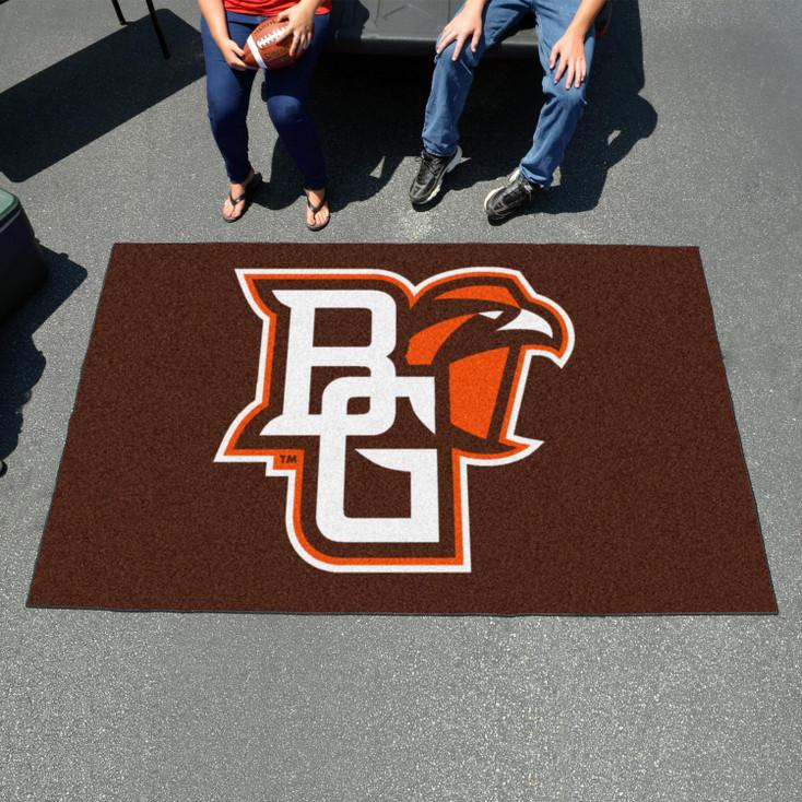"59.5"" x 94.5"" Bowling Green State University Brown Rectangle Ulti Mat"