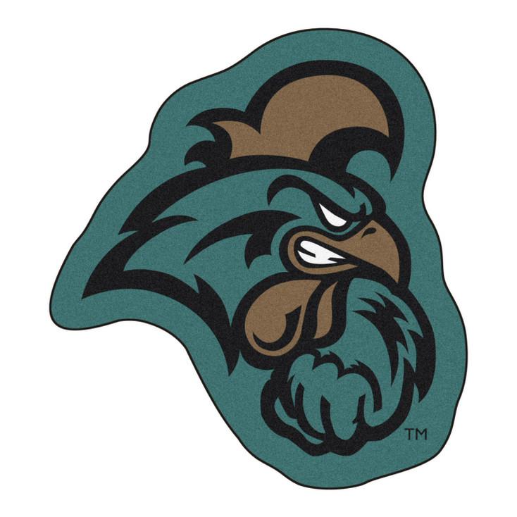 "Coastal Carolina University Mascot Mat - ""Chanticleer"" Logo"