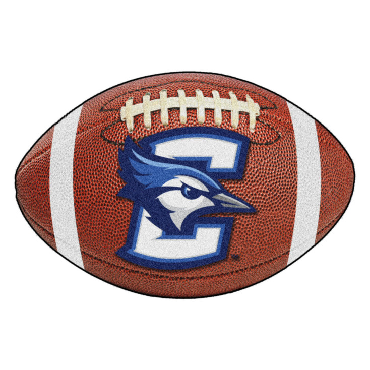 "20.5"" x 32.5"" Creighton University Football Shape Mat"