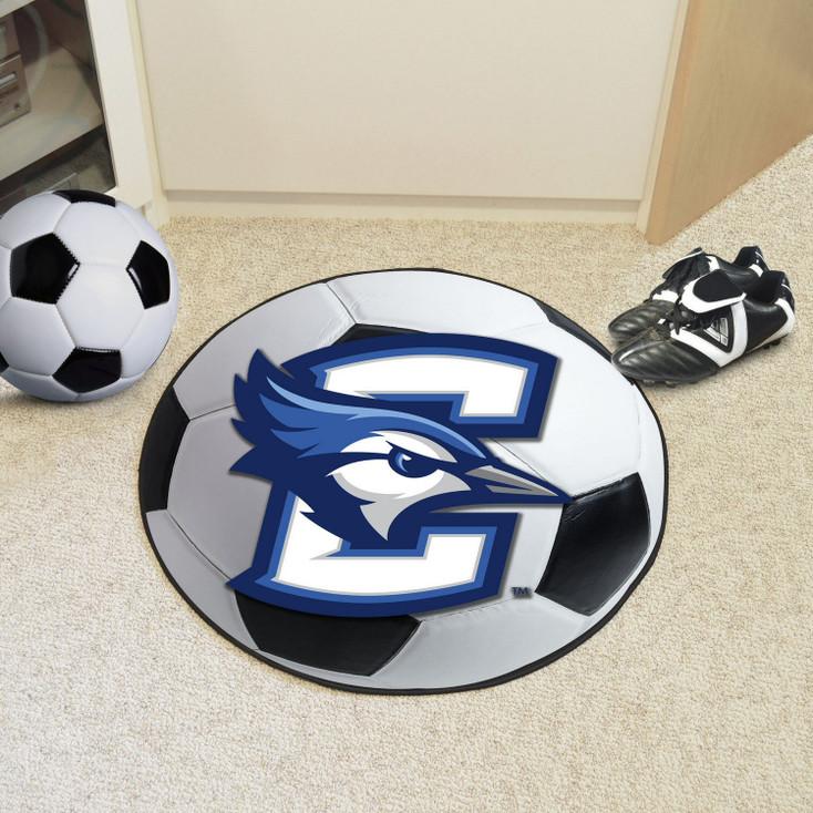 "27"" Creighton University Soccer Ball Round Mat"
