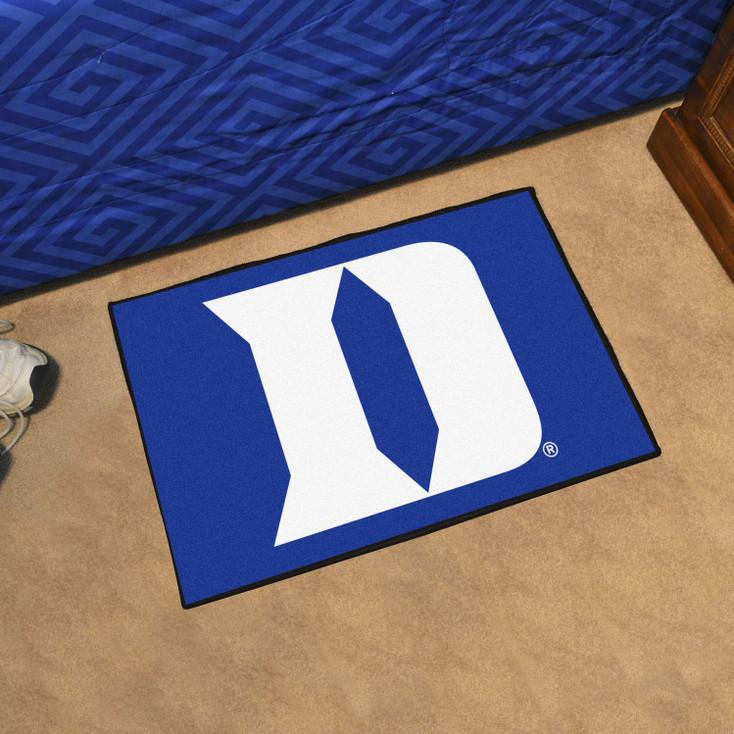 """19"""" x 30"""" Duke University Blue Rectangle Starter Mat"""