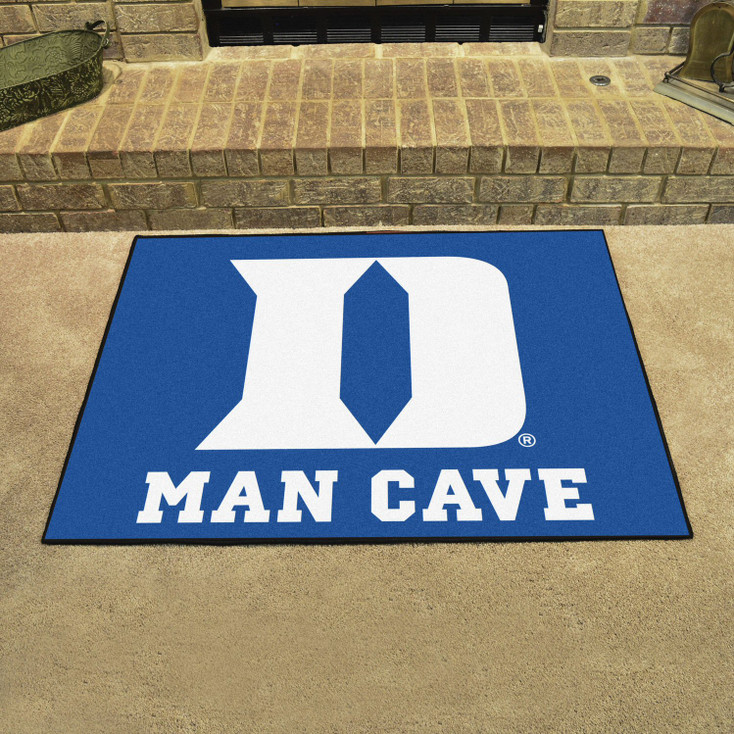 "33.75"" x 42.5"" Duke University Blue Man Cave All-Star Rectangle Mat"