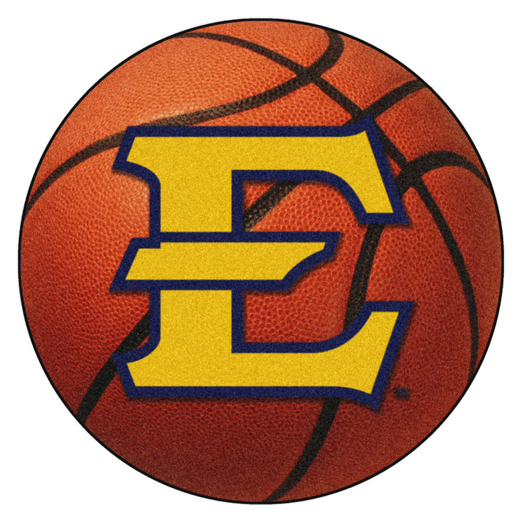 """27"""" East Tennessee State University Basketball Style Round Mat"""