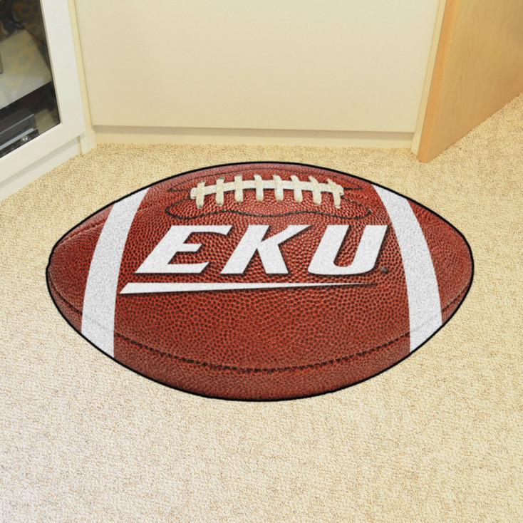 """20.5"""" x 32.5"""" Eastern Kentucky University Football Shape Mat"""