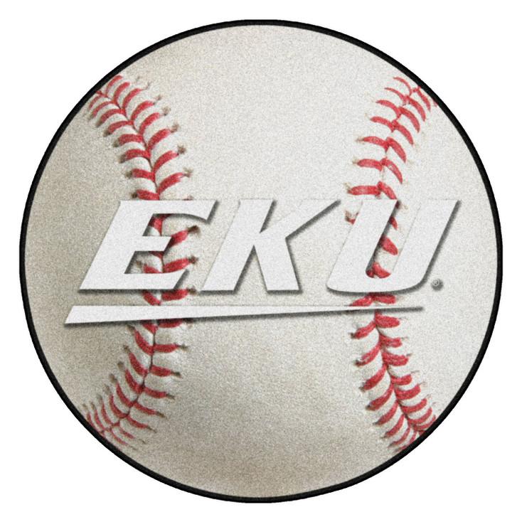 "27"" Eastern Kentucky University Baseball Style Round Mat"