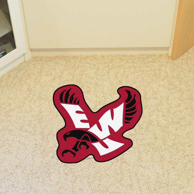 """Eastern Washington University Mascot Mat - """"EWU Eagle"""" Logo"""