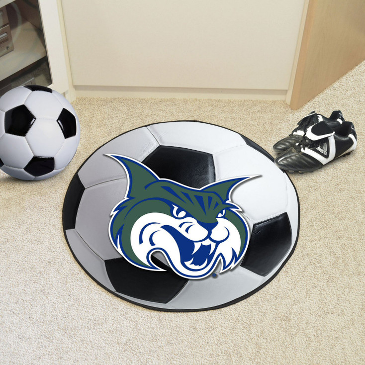 "27"" Georgia College Soccer Ball Round Mat"