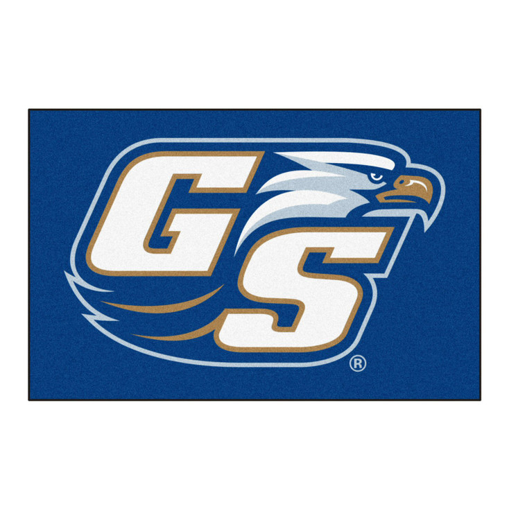 "19"" x 30"" Georgia Southern University Blue Rectangle Starter Mat"