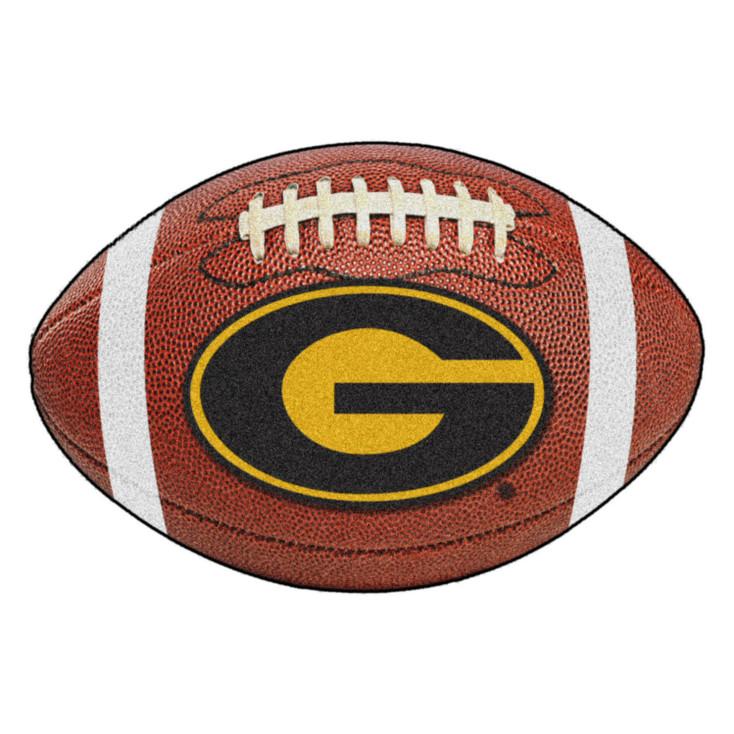 """20.5"""" x 32.5"""" Grambling State University Football Shape Mat"""