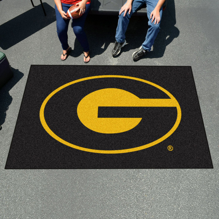 "59.5"" x 94.5"" Grambling State University Black Rectangle Ulti Mat"