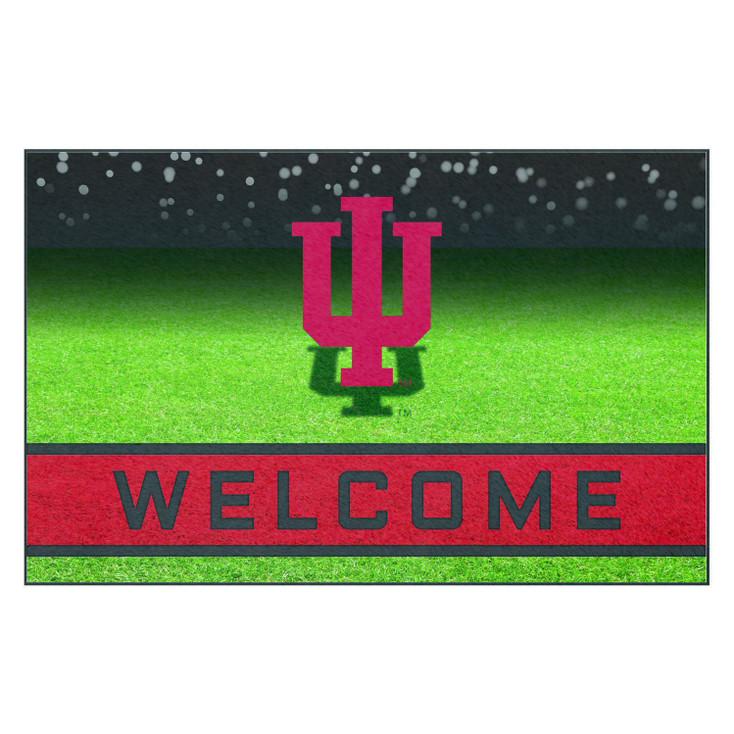 """18"""" x 30"""" Indiana University Crumb Rubber Door Mat"""