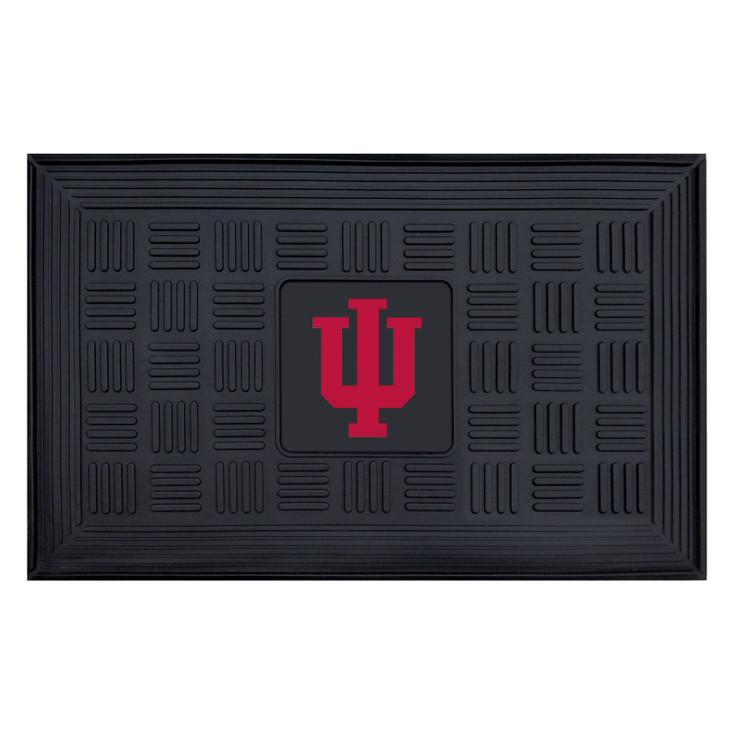"19.5"" x 31.25"" Indiana University Medallion Rectangle Door Mat"