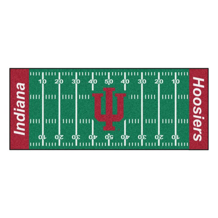 """30"""" x 72"""" Indiana University Football Field Rectangle Runner Mat"""