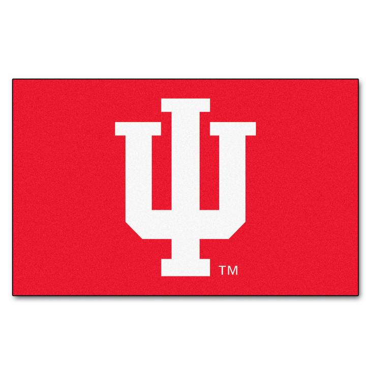 "59.5"" x 94.5"" Indiana University Red Rectangle Ulti Mat"