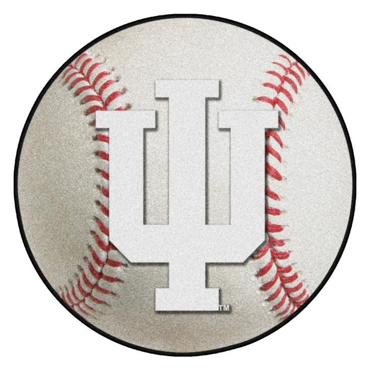 "27"" Indiana University Baseball Style Round Mat"